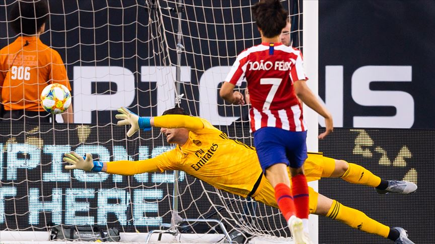 Atletico Madrid'den Real Madrid'e 7 gol